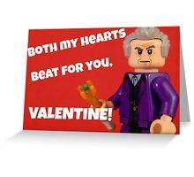 Both My Hearts - 12 Greeting Card