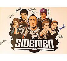 Sidemen Signature Print Photographic Print
