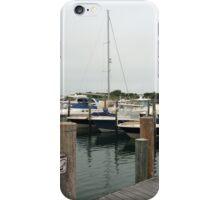 Boating in East Hampton, NY iPhone Case/Skin