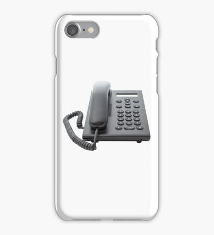 VoIP Phone with LCD Display iPhone Case/Skin