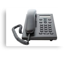 VoIP Phone with LCD Display Canvas Print
