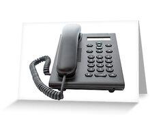 VoIP Phone with LCD Display Greeting Card