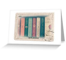 Outlander books stamp Greeting Card