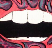Pi Beta Phi Lips Sticker