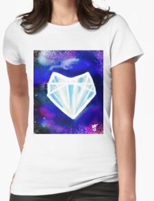 Hearts or Diamonds, I'll Take Diamonds Womens Fitted T-Shirt
