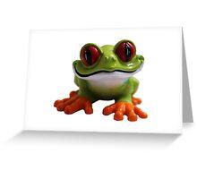 Cute Froggy 3 Greeting Card