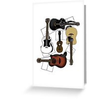 Guitar Party Greeting Card