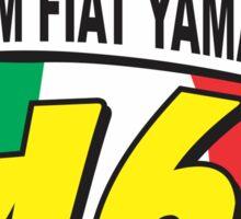 Valentino rossi Team Fiat Yamaha  Sticker
