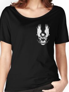 U.N.S.C. Insignia, 343i Redesign (White Logo) Women's Relaxed Fit T-Shirt