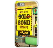 Bond....Gold Bond iPhone Case/Skin