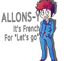 """Tenth Doctor - """"Allons-y!"""" by lg-02"""