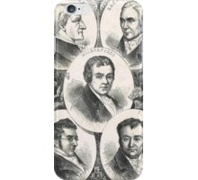 Heroes of the Slave trade abolition movement iPhone Case/Skin