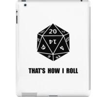 20 Sided Dice Roll iPad Case/Skin