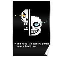 Sans & Papyrus Poster