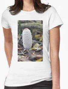 Shaggy Ink Cap - Woolston Linear Park, Warrington Womens Fitted T-Shirt