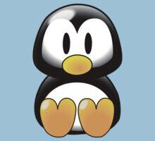 Cartoon Penguin Kids Tee
