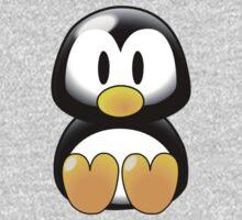 Cartoon Penguin One Piece - Short Sleeve