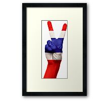 T-Wo ColOR,s Framed Print