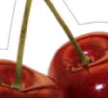 cherry sticker Sticker