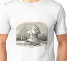 Great Sphinx of Giza & Pyramid Egypt Unisex T-Shirt