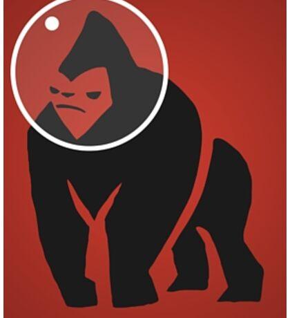Gorilla Space Program Sticker