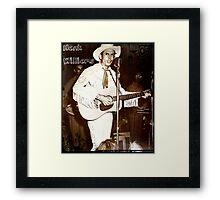 Hank Williams In Concert Framed Print