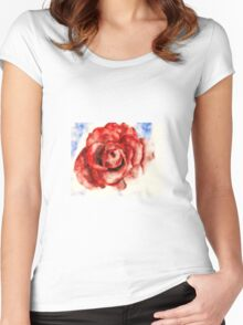 """A rose by any other name..."" Women's Fitted Scoop T-Shirt"