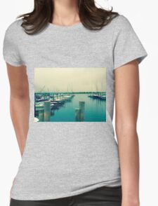 East Hampton Bay Boating - Summer Style Womens Fitted T-Shirt