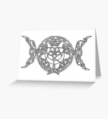 Triple Goddess Greeting Card