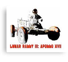 Lunar Rally 3:  Apollo 17 Canvas Print