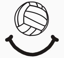 Volleyball Smile One Piece - Short Sleeve