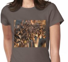 Withered Hydrangea.... Womens Fitted T-Shirt