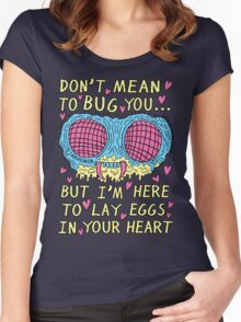 Bug Love Women's Fitted Scoop T-Shirt