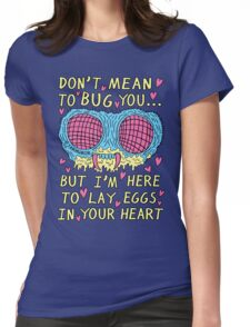 Bug Love Womens Fitted T-Shirt