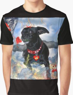 The Devil Cupid Dog That Came From Outer Space Graphic T-Shirt