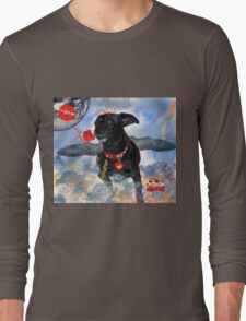 The Devil Cupid Dog That Came From Outer Space Long Sleeve T-Shirt