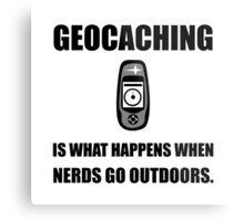 Geocaching Nerds Metal Print