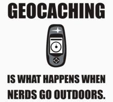 Geocaching Nerds Kids Clothes