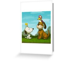 0034 - Bird Dogs Greeting Card