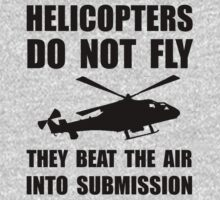 Helicopter Submission One Piece - Short Sleeve