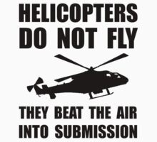 Helicopter Submission Baby Tee