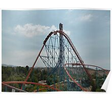 Goliath Roller Coaster Poster