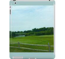Hamptons Greenery with Fence iPad Case/Skin