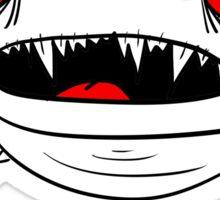 Monster Frog Design Sticker