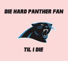 Die Hard Panther Fan ´til I Die Kids Tee