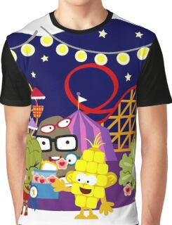 Veggie Ventures The Carnival Graphic T-Shirt