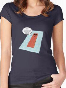 Crispy Women's Fitted Scoop T-Shirt