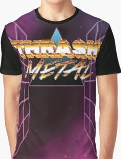 Thrash Metal 80s Graphic T-Shirt