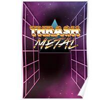 Thrash Metal 80s Poster