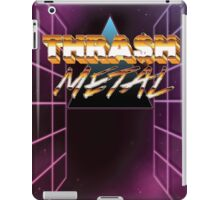 Thrash Metal 80s iPad Case/Skin
